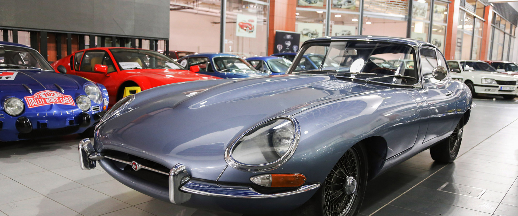Jaguar E-Type S1 4.2l